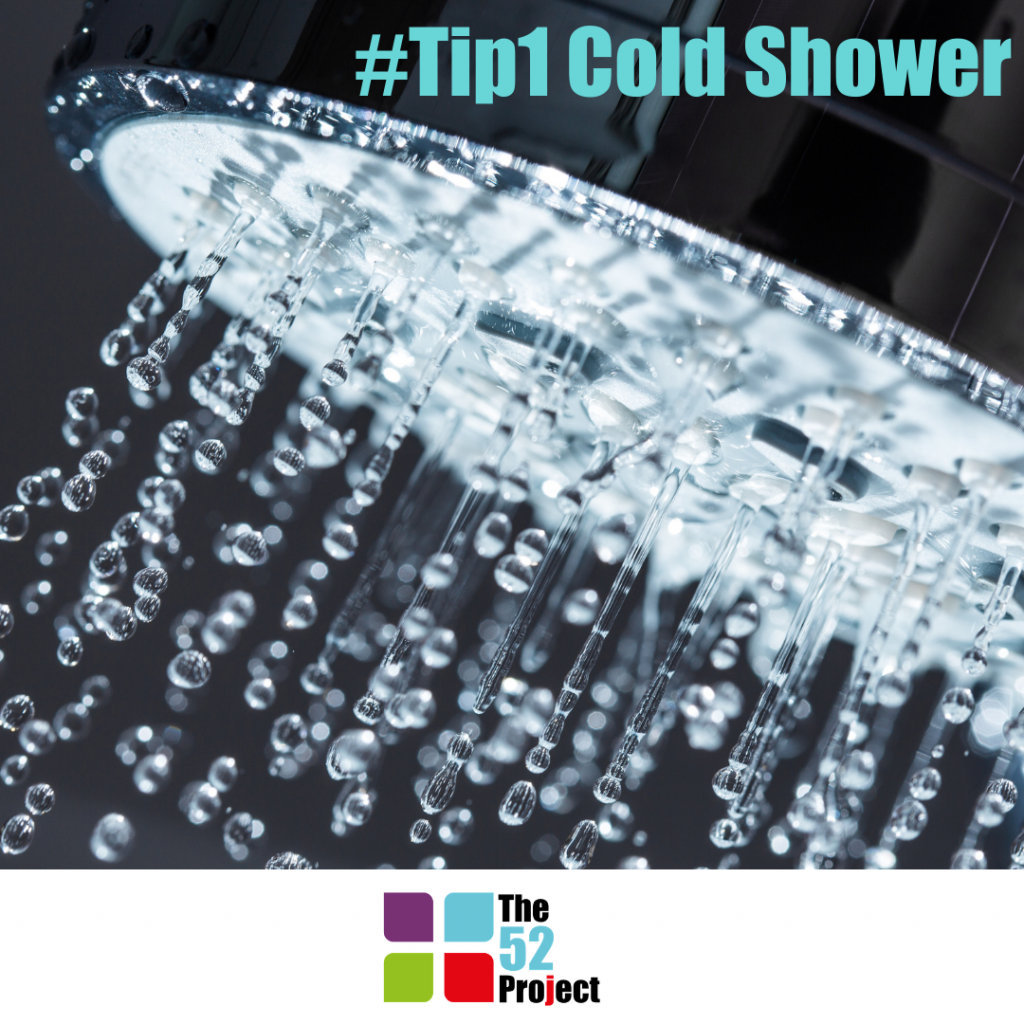 tip1, the 52 project, cold showers, iain price, dulcie swanston, wellbeing, are cold showers good for you