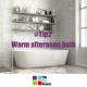 warm bath, warm afternoon bath, the 52 tips, 52 project, wellbeing, are warm baths good for you, neuroscience