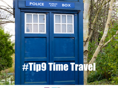 time travel, tardis, back to the future, the 52 project, reflection, iain price, dulcie swantson, 52 tips, community wellbeing project