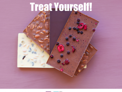treats, chocolate, the 52 project, treat yourself, wellbeing, the 52 project, iain price, dulcie swanston, a little of what you fancy does you good