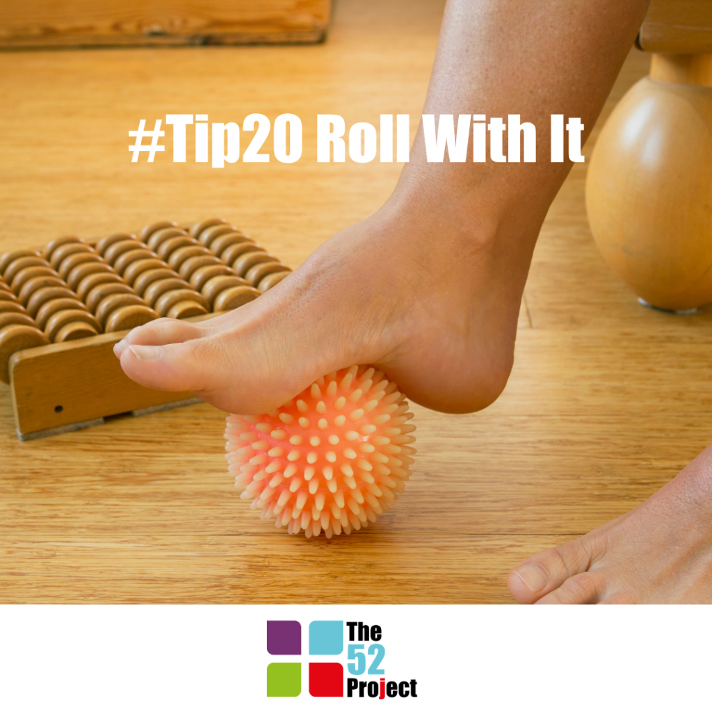 tip20, roll with it, roll a ball under your feet, roll, the 52 project, hedge haigh, dulcie swanston, iain price