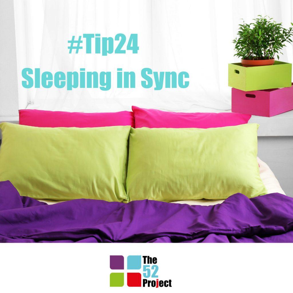 sleeping, sleeping in sync, body clock, circadean rhythm, james bushe, the 52 project, wellbeing tips
