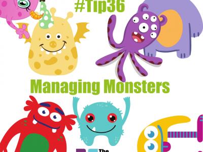 managing monsters, advice monster, personality, the 52 project, DigitalJen, Jen Smith, Iain Price, Dulcie Swanston, Roger Steare